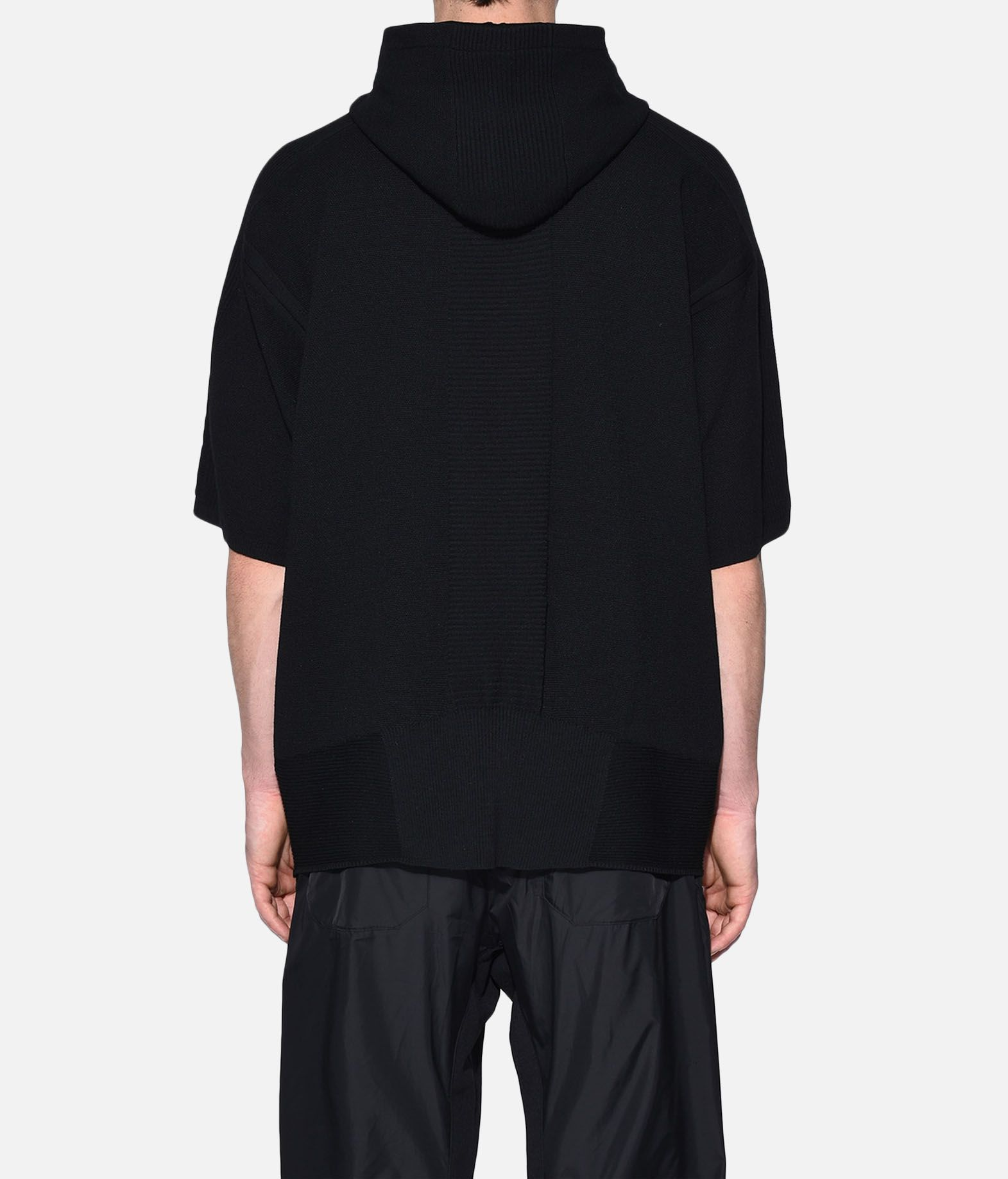 Y-3 Y-3 Tech Wool Hoodie Short sleeve sweater Man d