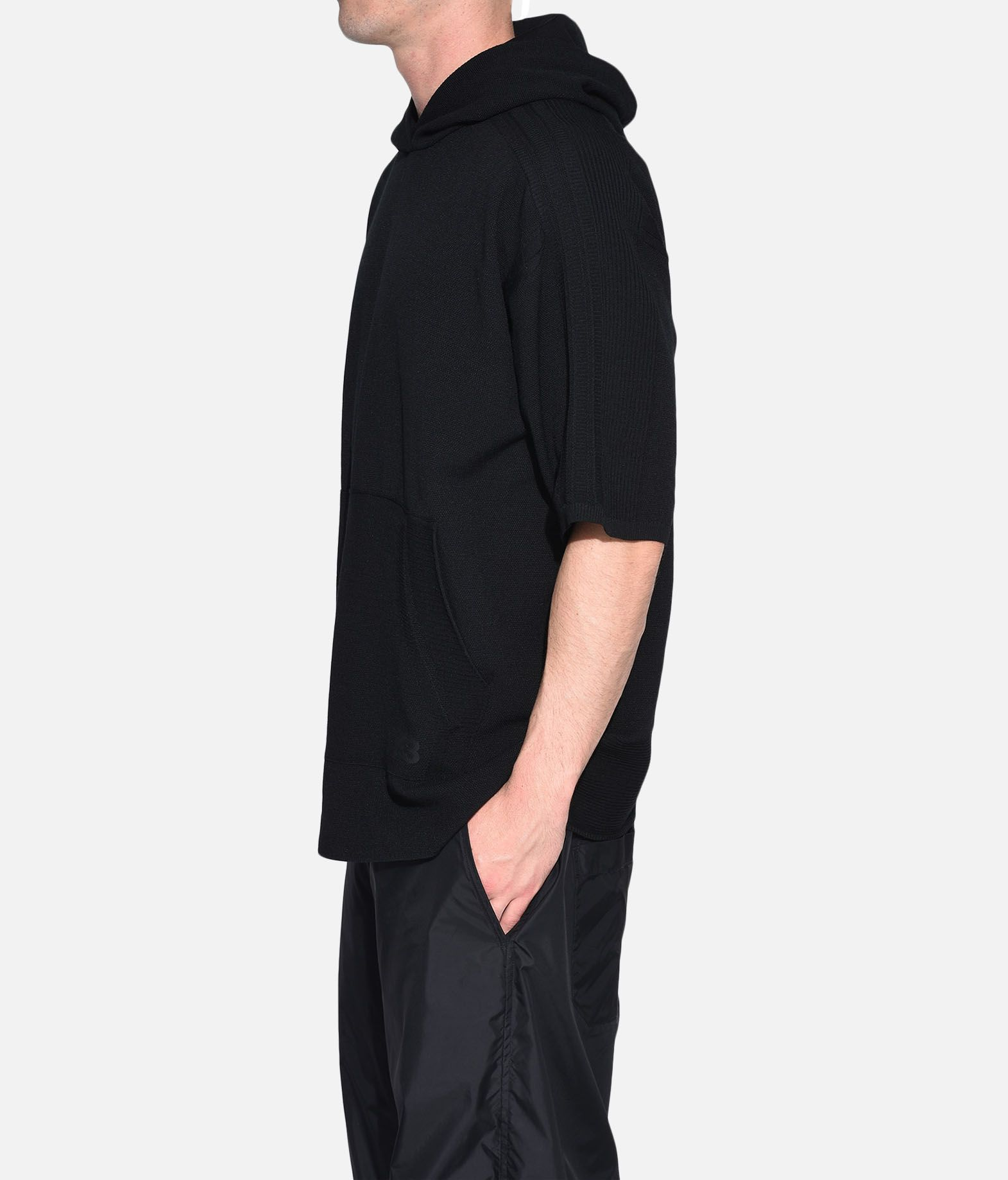 Y-3 Y-3 Tech Wool Hoodie Short sleeve sweater Man e