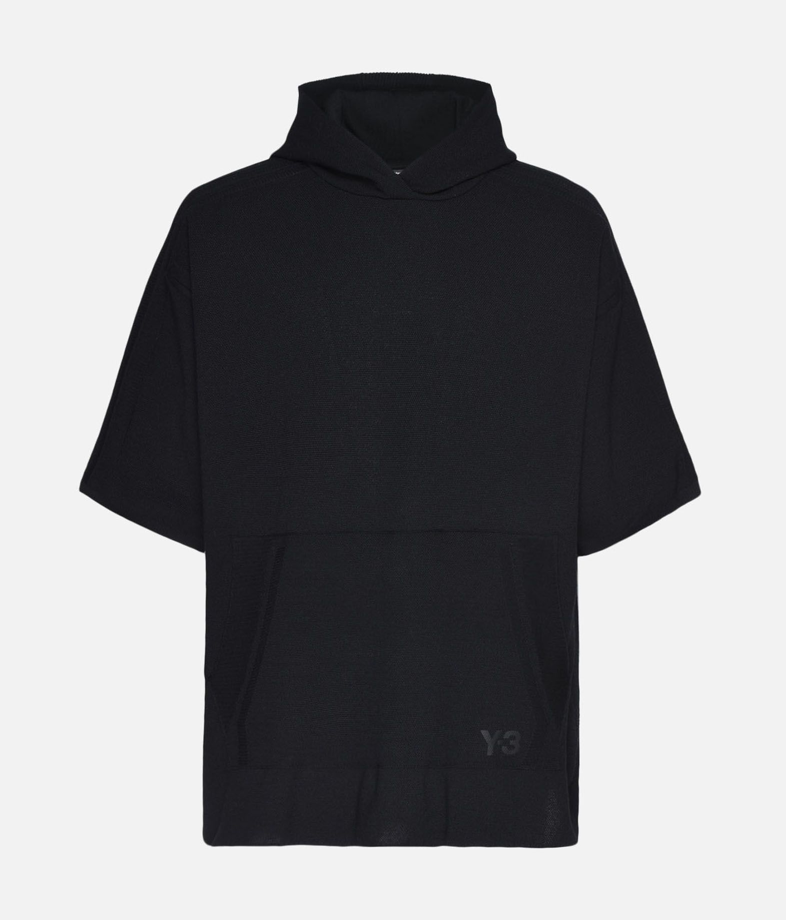 Y-3 Y-3 Tech Wool Hoodie Short sleeve sweater Man f
