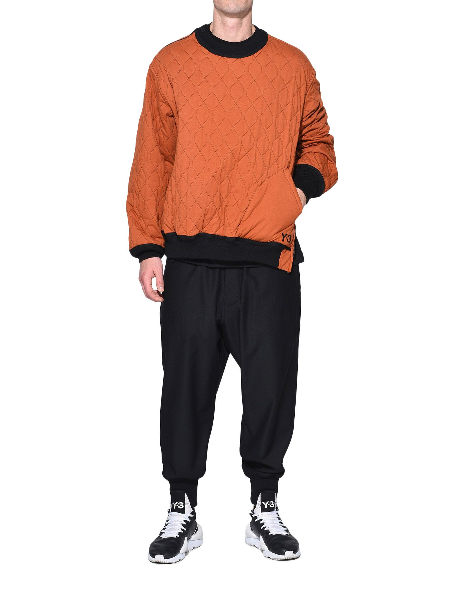 Y-3 Y-3 AOP Quilted Sweater スウェット メンズ a