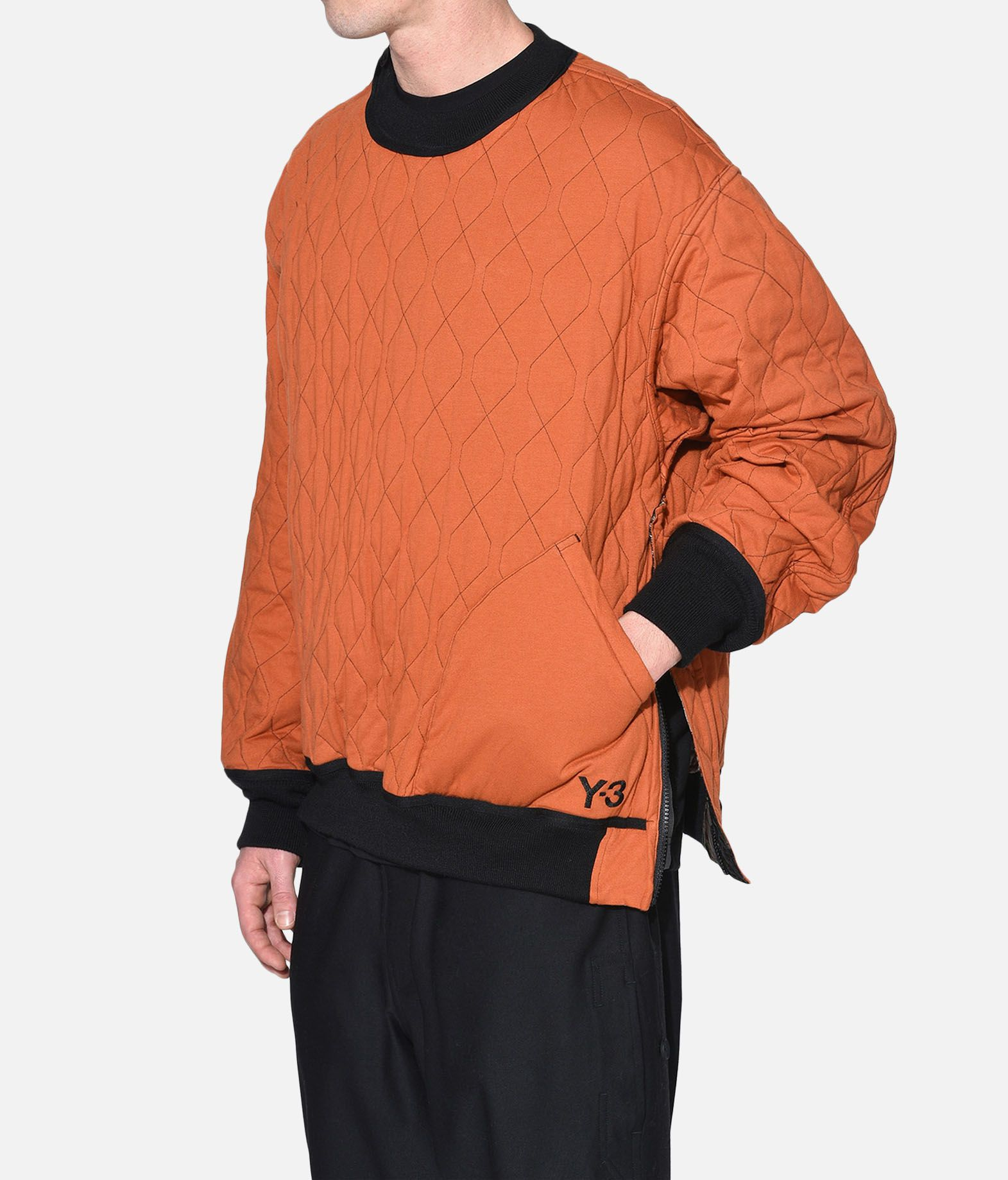Y-3 Y-3 AOP Quilted Sweater スウェット メンズ e