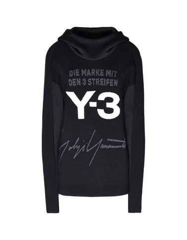 Y-3 Knitted Stacked Logo Hoodie SWEATSHIRTS woman Y-3 adidas
