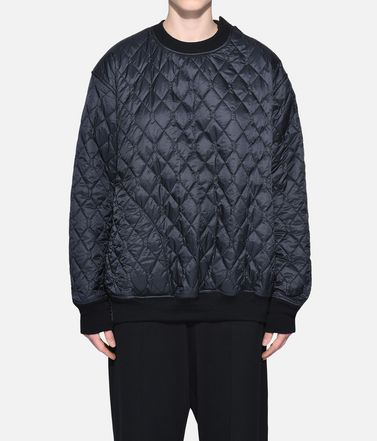 Y-3 スウェット レディース Y-3 Quilted Sweater r