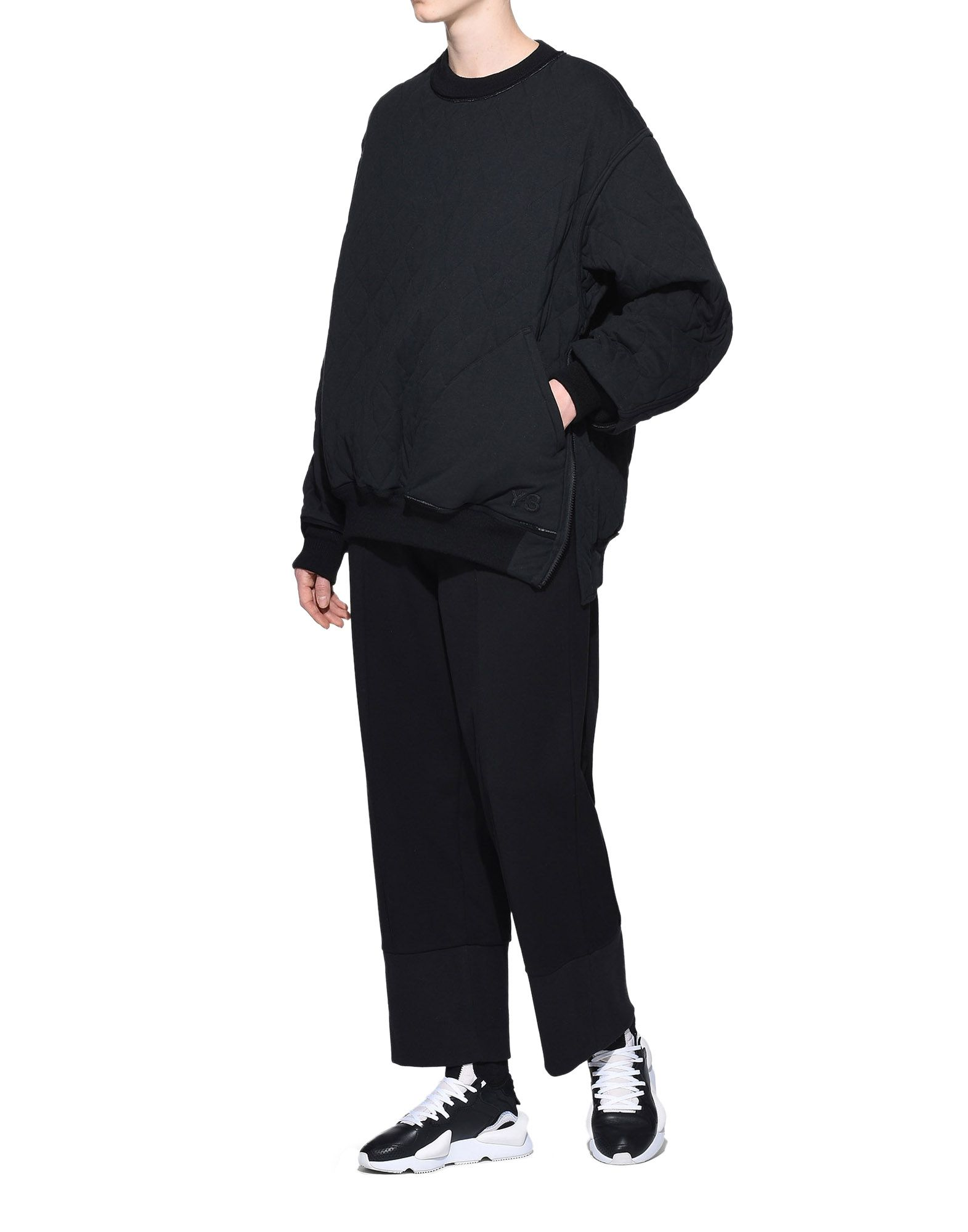 Y-3 Y-3 Quilted Sweater スウェット レディース a