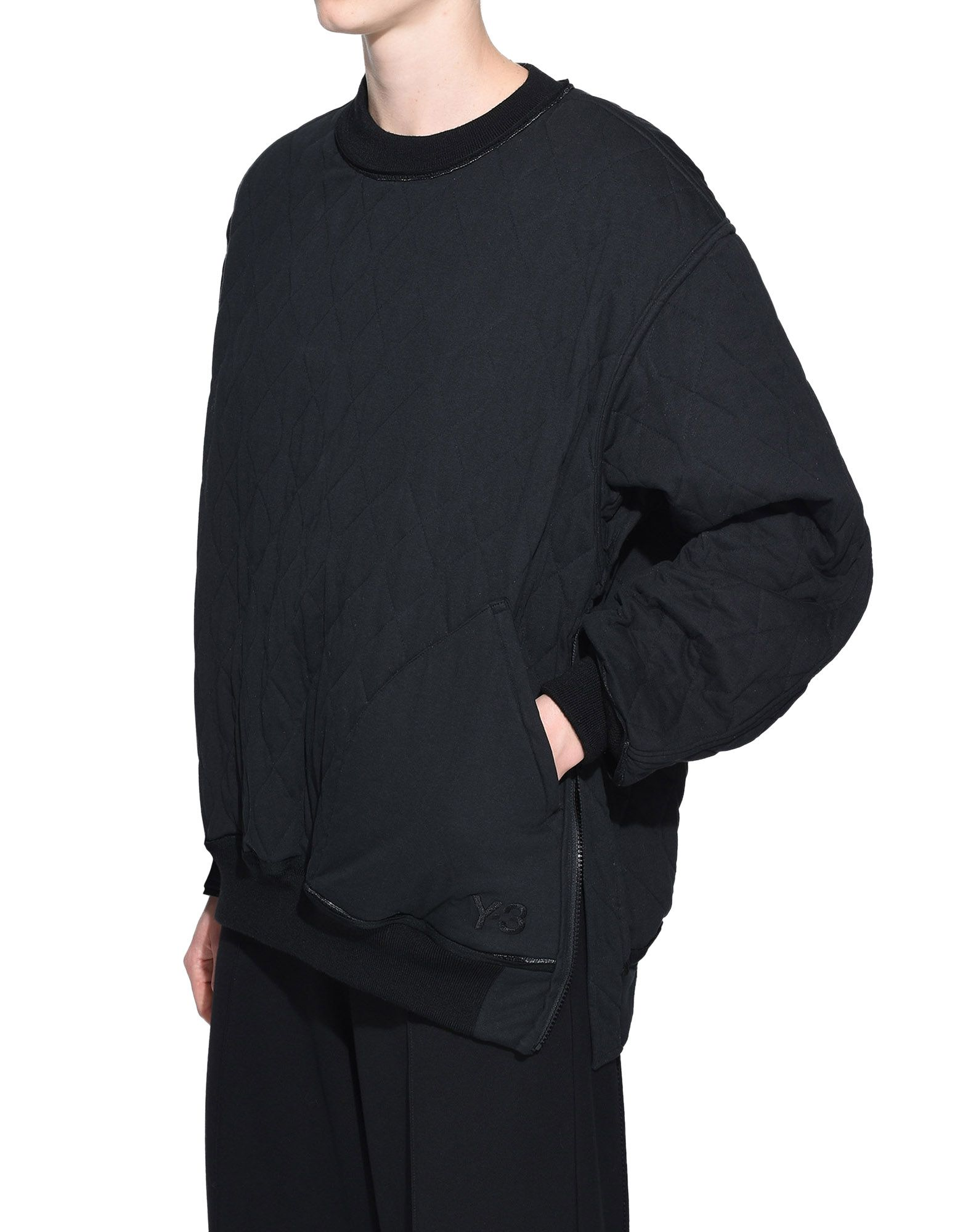 Y-3 Y-3 Quilted Sweater スウェット レディース e