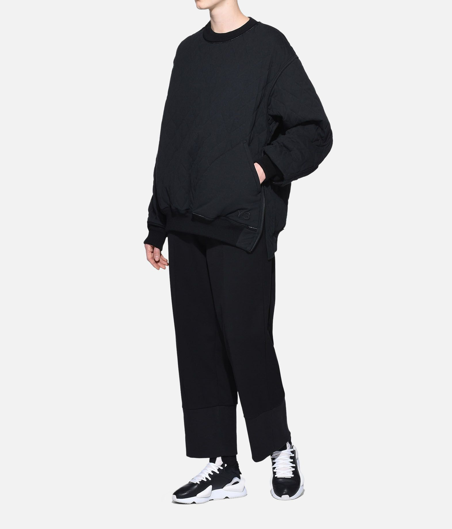Y-3 Y-3 Quilted Sweater Sweatshirt Damen a