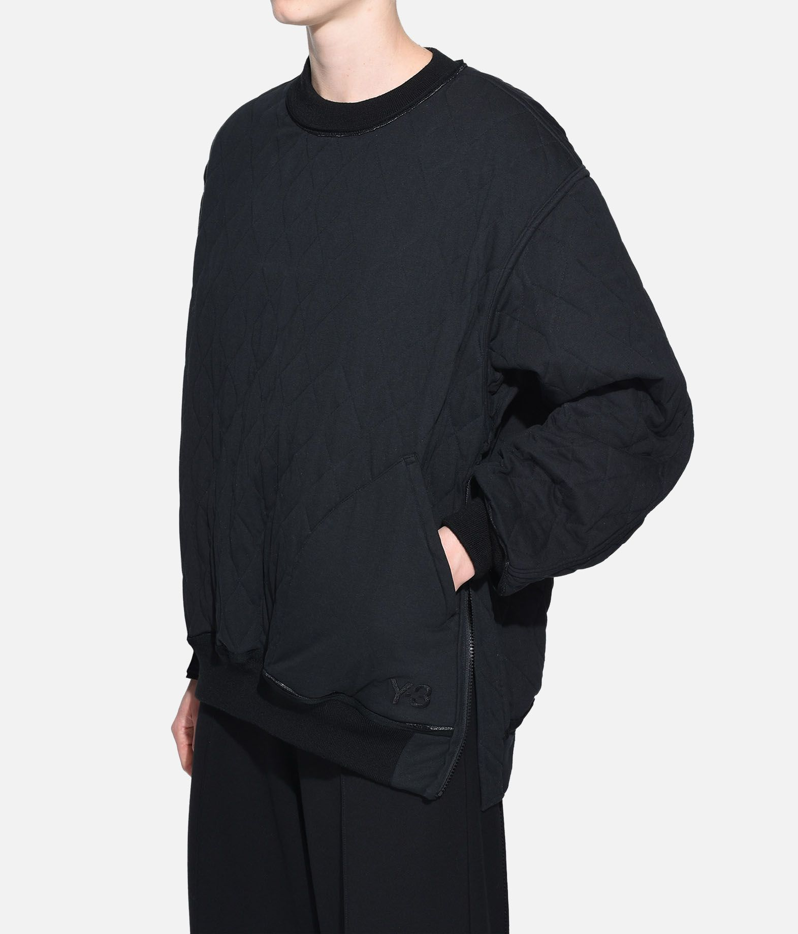 Y-3 Y-3 Quilted Sweater Sweatshirt Damen e