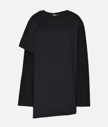 Y-3 Two-Layer Fleece Sweater