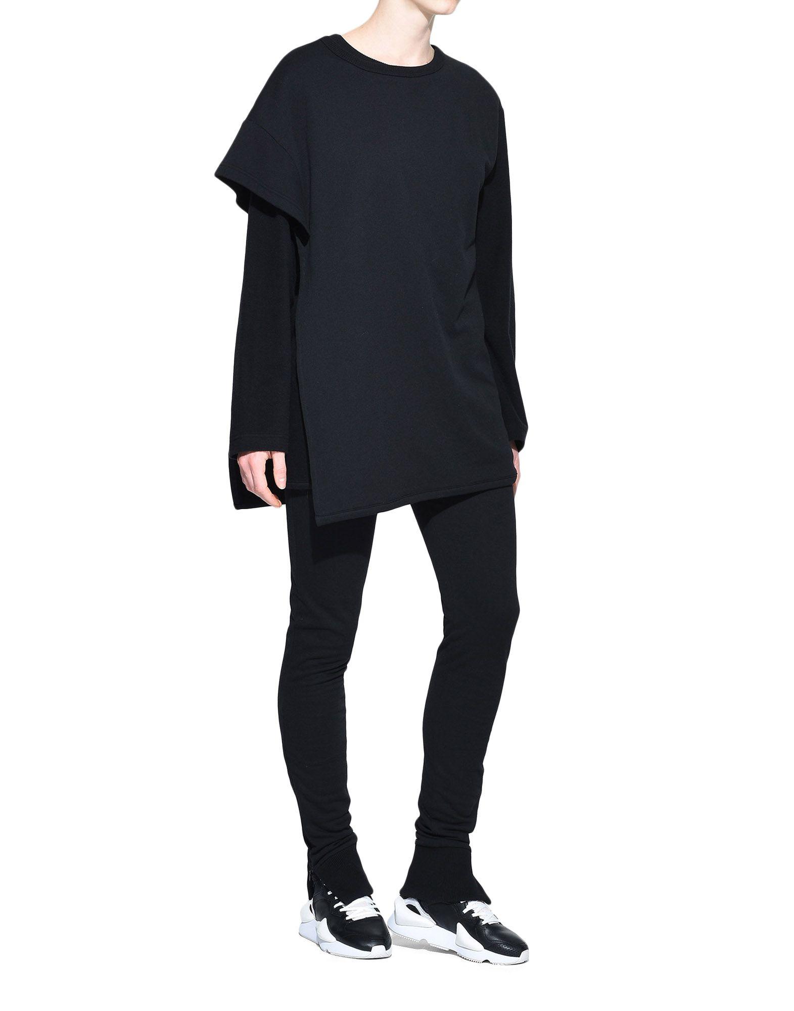 Y-3 Y-3 Two-Layer Fleece Sweater Sweatshirt Woman a