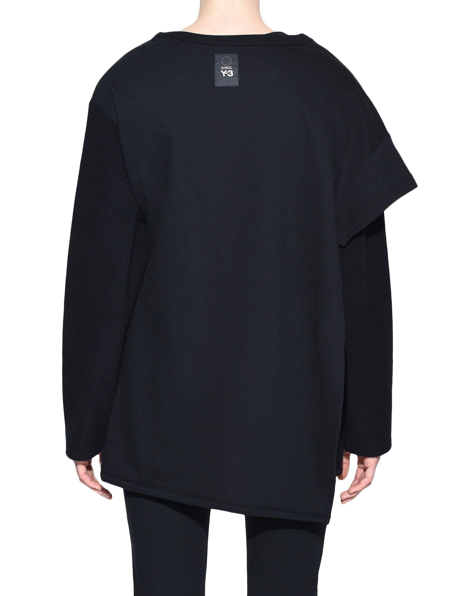 Y-3 Y-3 Two-Layer Fleece Sweater Sweatshirt Woman d