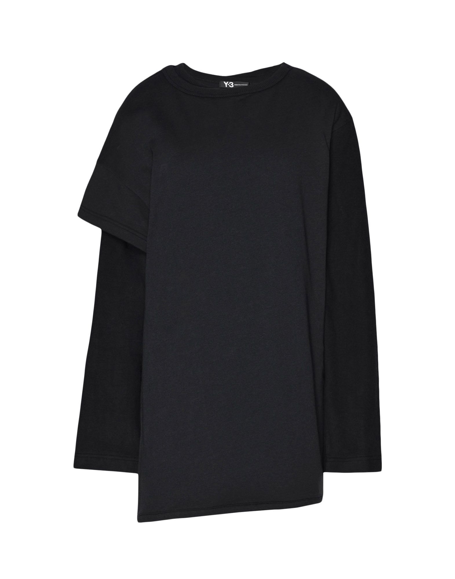 Y-3 Y-3 Two-Layer Fleece Sweater Sweatshirt Woman f