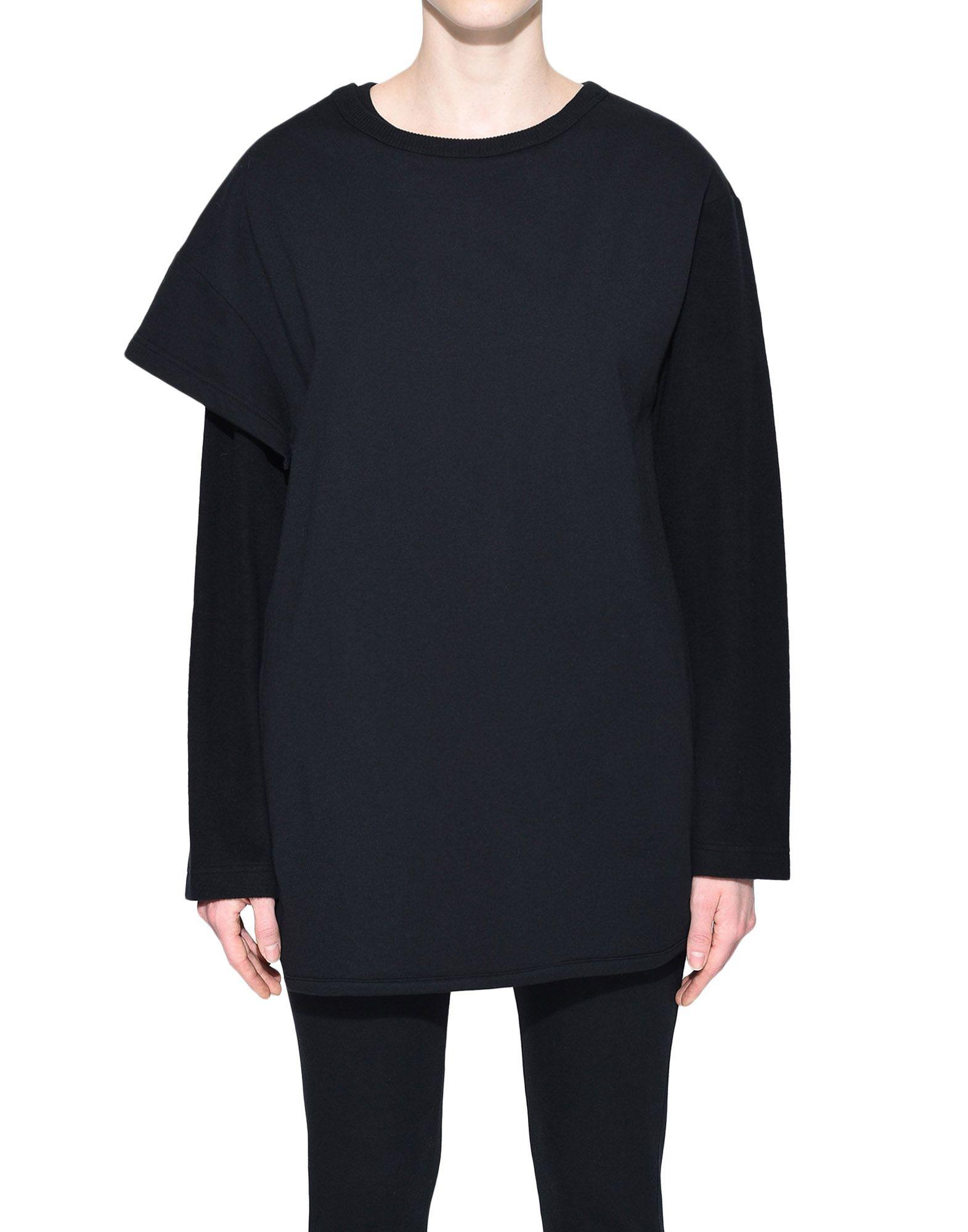 Y-3 Y-3 Two-Layer Fleece Sweater Sweatshirt Woman r