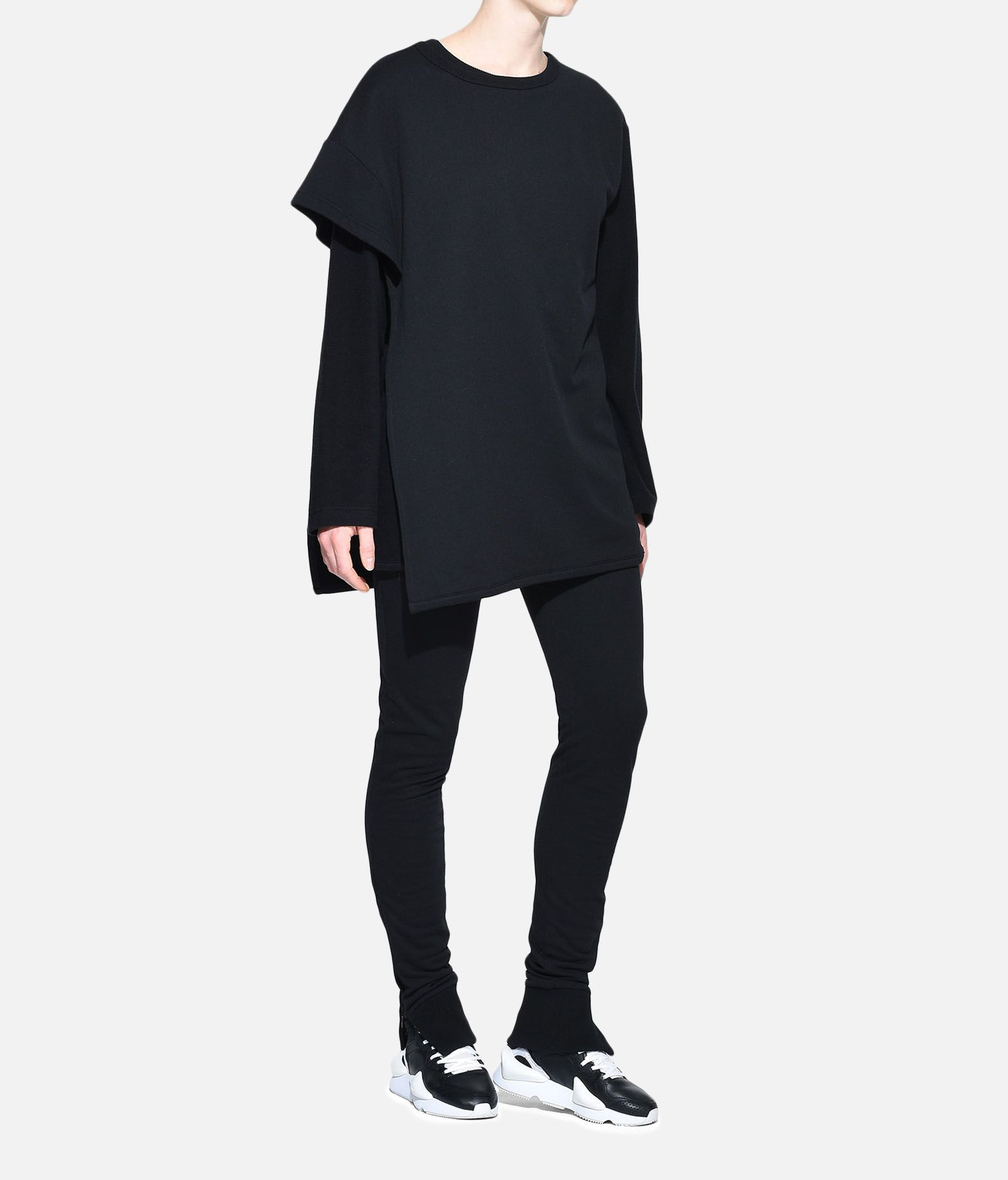 Y-3 Y-3 Two-Layer Fleece Sweater Sweatshirt Woman a