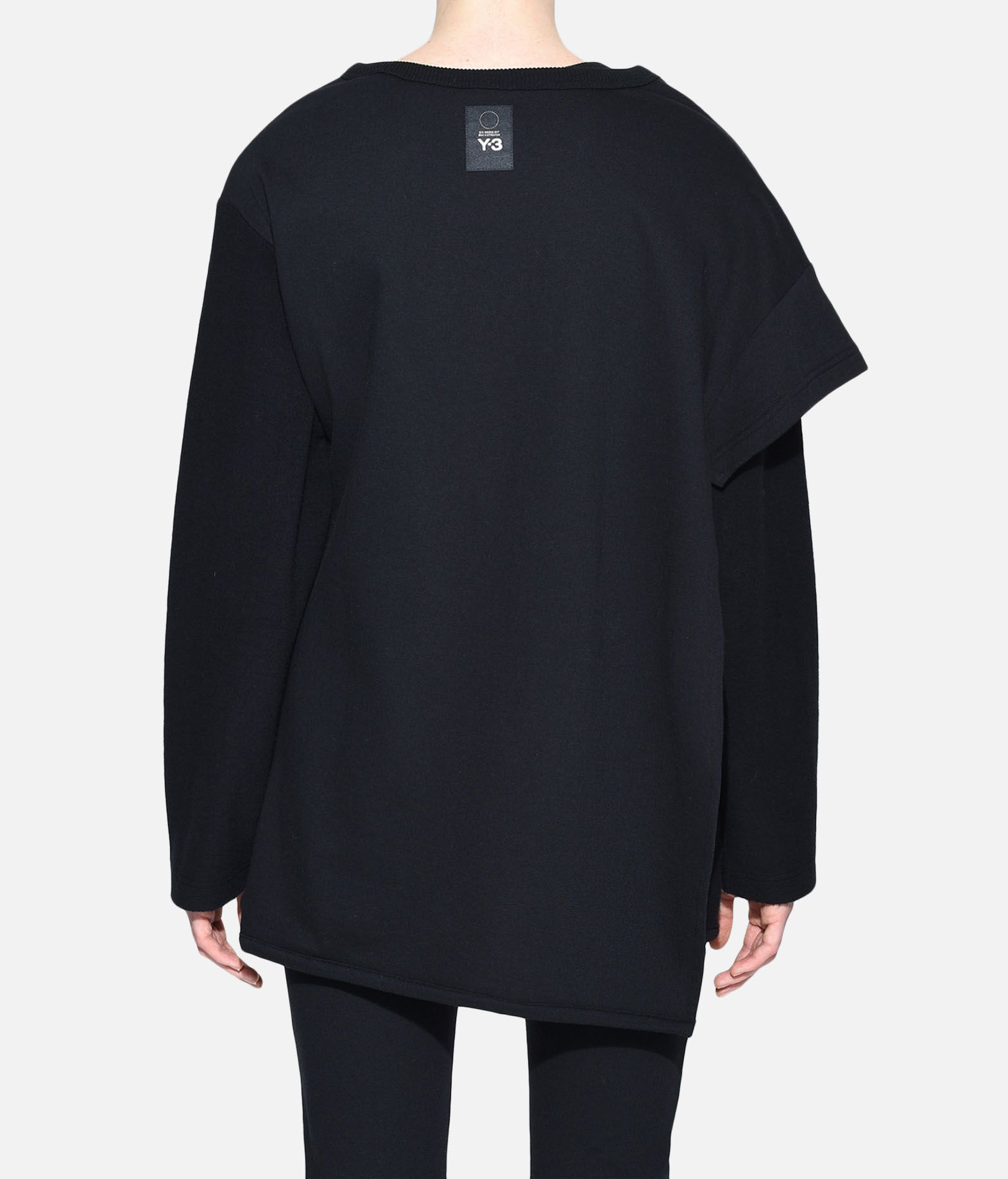Y-3 Y-3 Two-Layer Fleece Sweater Sweatshirt Woman d