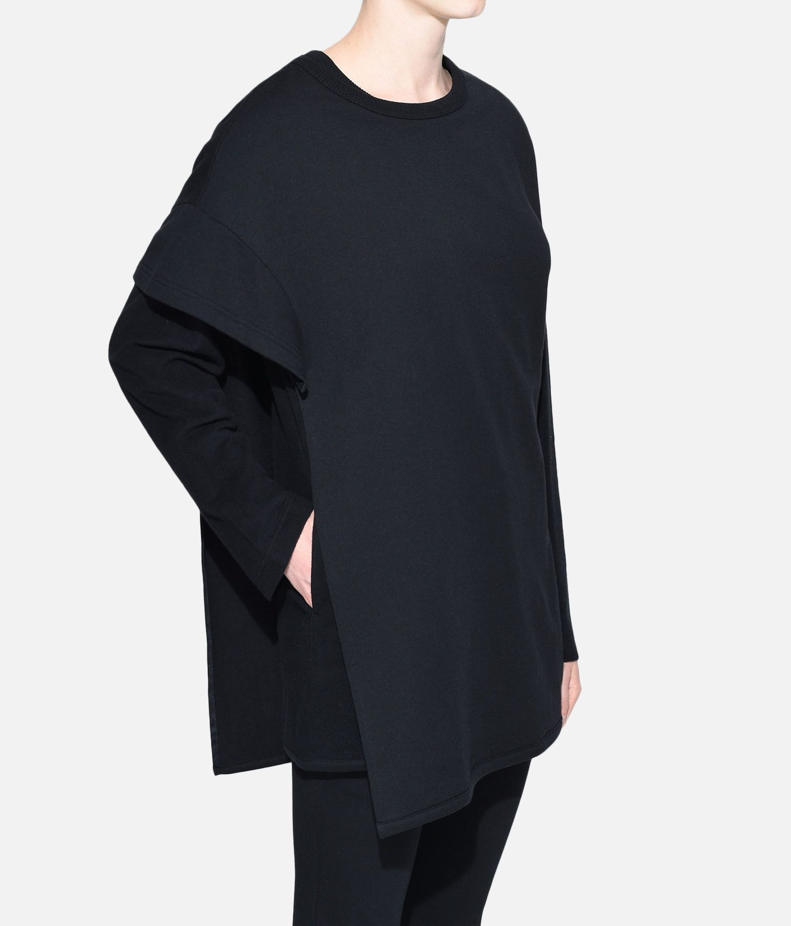 Y-3 Y-3 Two-Layer Fleece Sweater Sweatshirt Woman e