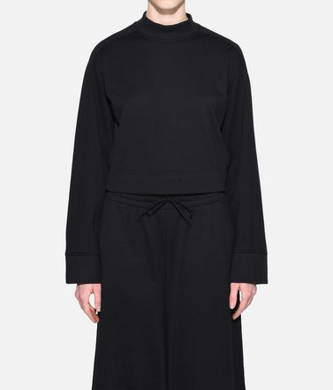 Y-3 Sweatshirt Woman Y-3 Stacked Logo Sweater r