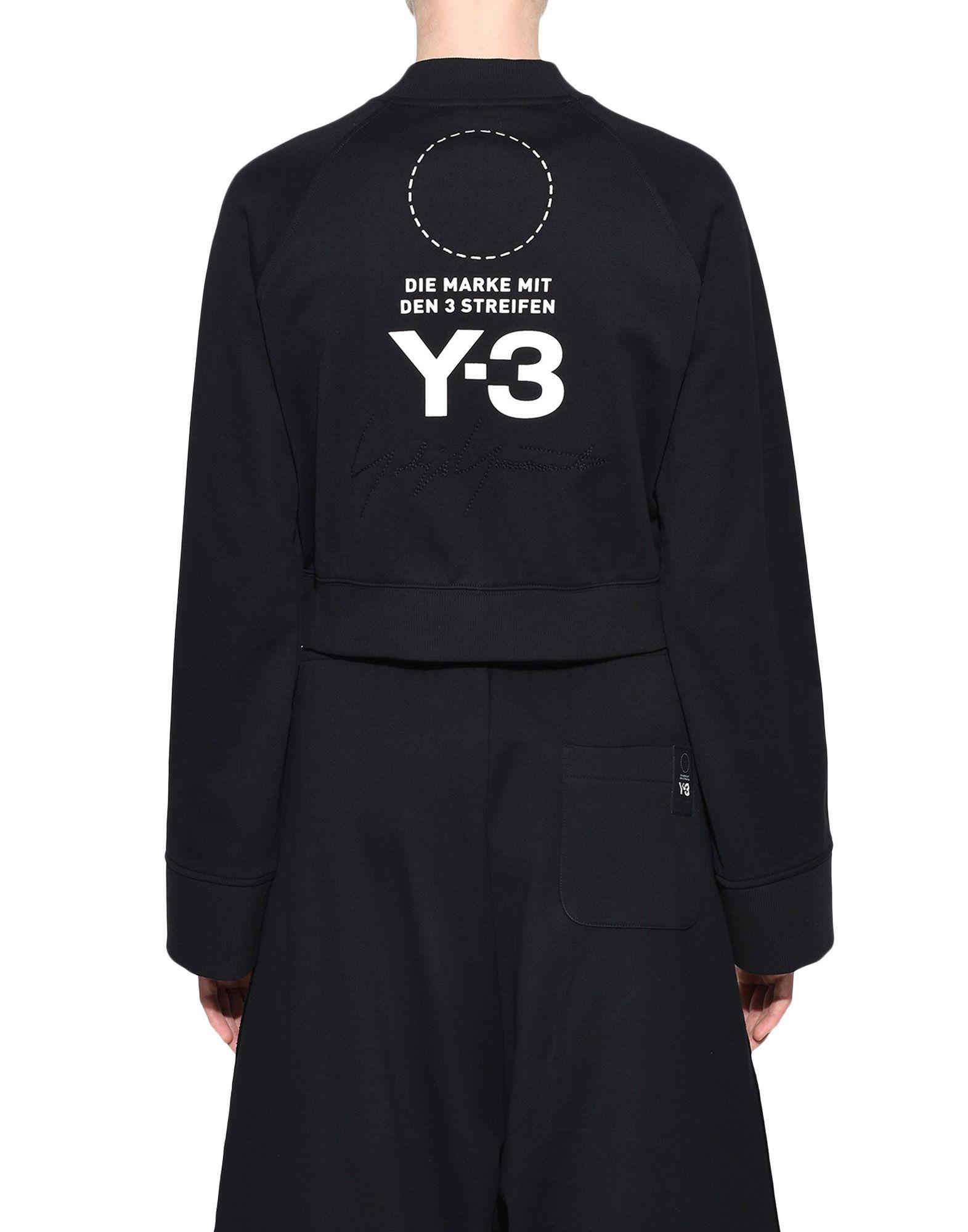 Y-3 Y-3 Stacked Logo Sweater Sweatshirt Woman d
