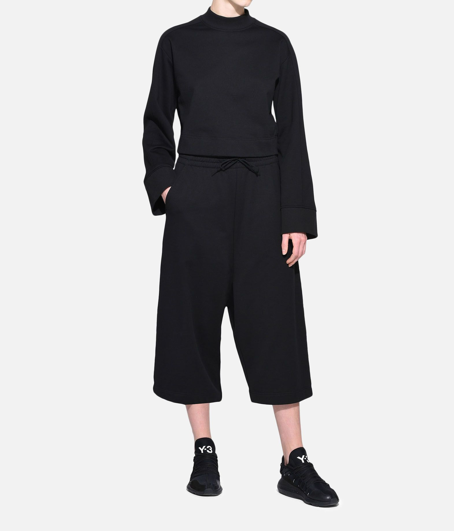 Y-3 Y-3 Stacked Logo Sweater Felpa Donna a