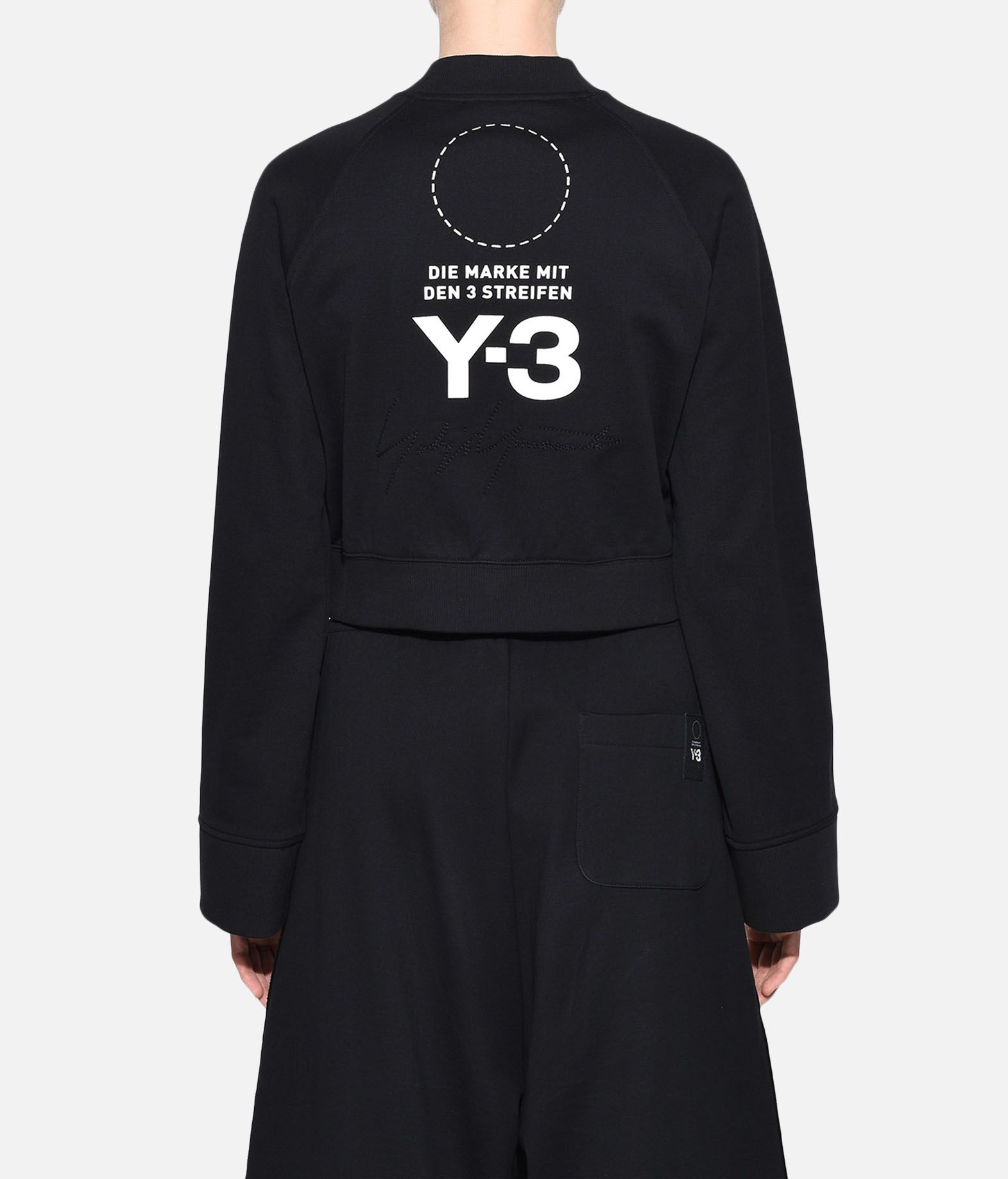 Y-3 Y-3 Stacked Logo Sweater Felpa Donna d