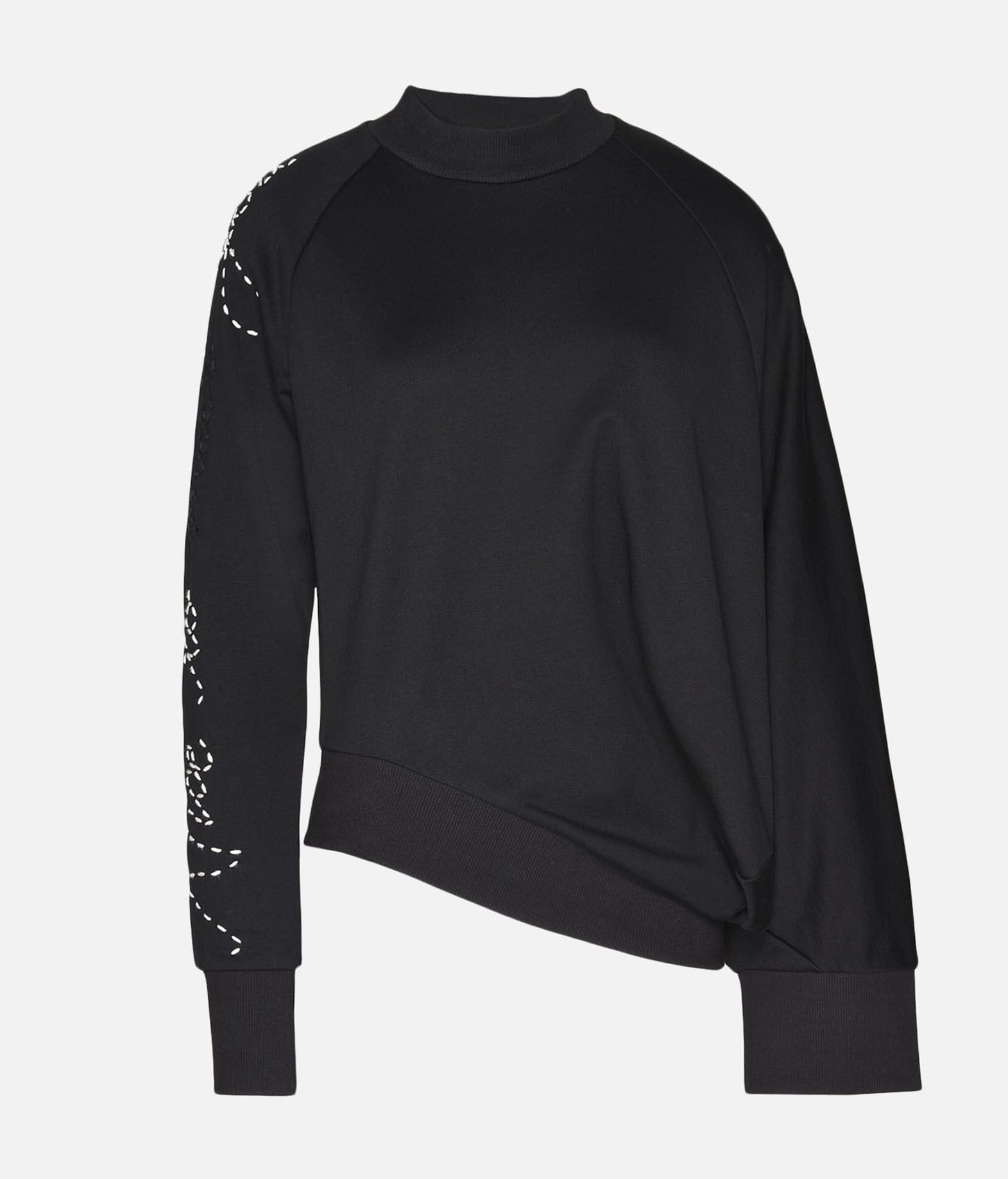 Y-3 Y-3 Sashiko Slogan Sweater Sweatshirt Woman f