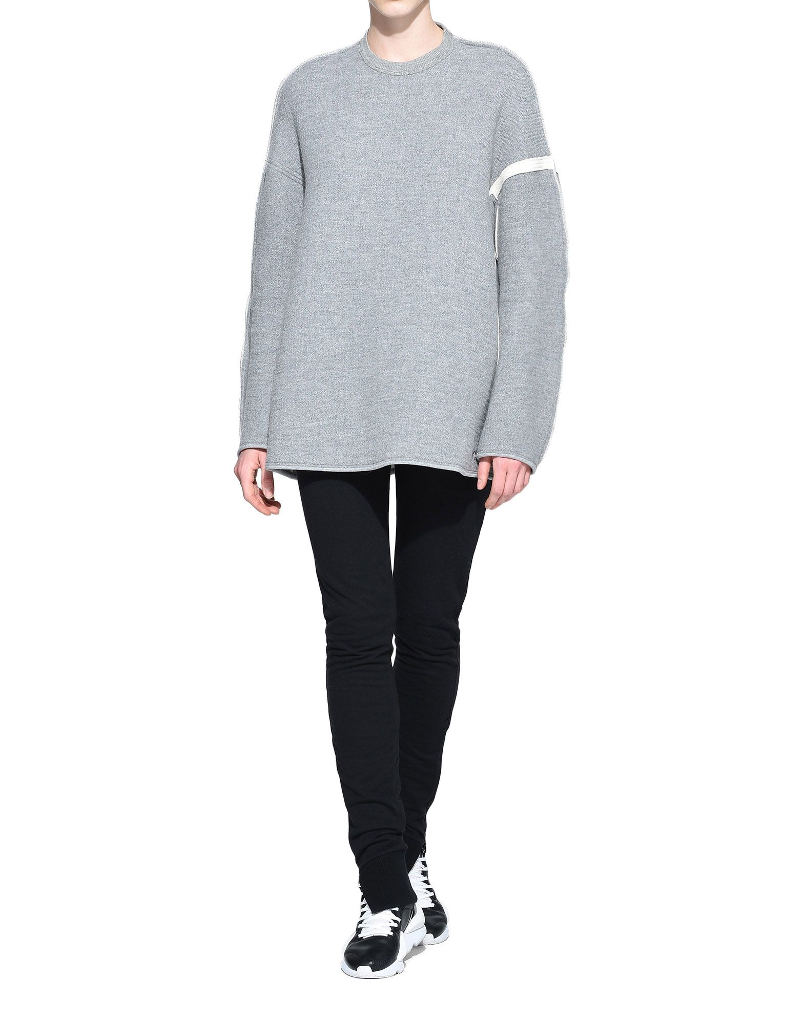 Y-3 Y-3 Oversize Spacer Wool Sweater スウェット レディース a