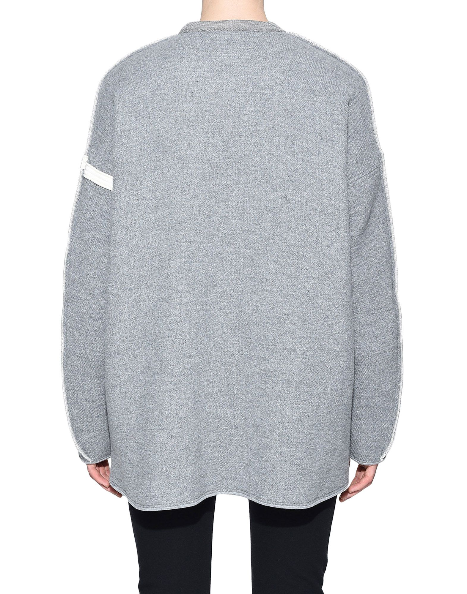 Y-3 Y-3 Oversize Spacer Wool Sweater スウェット レディース d