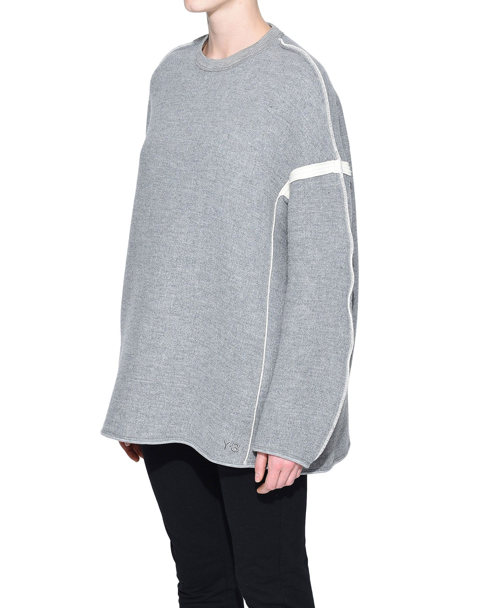 Y-3 Y-3 Oversize Spacer Wool Sweater スウェット レディース e