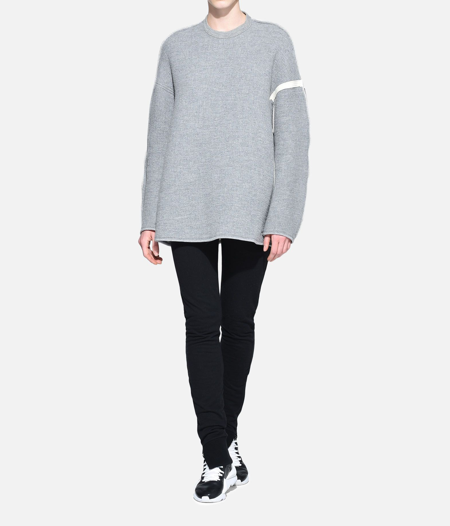 Y-3 Y-3 Oversize Spacer Wool Sweater Sweatshirt Woman a