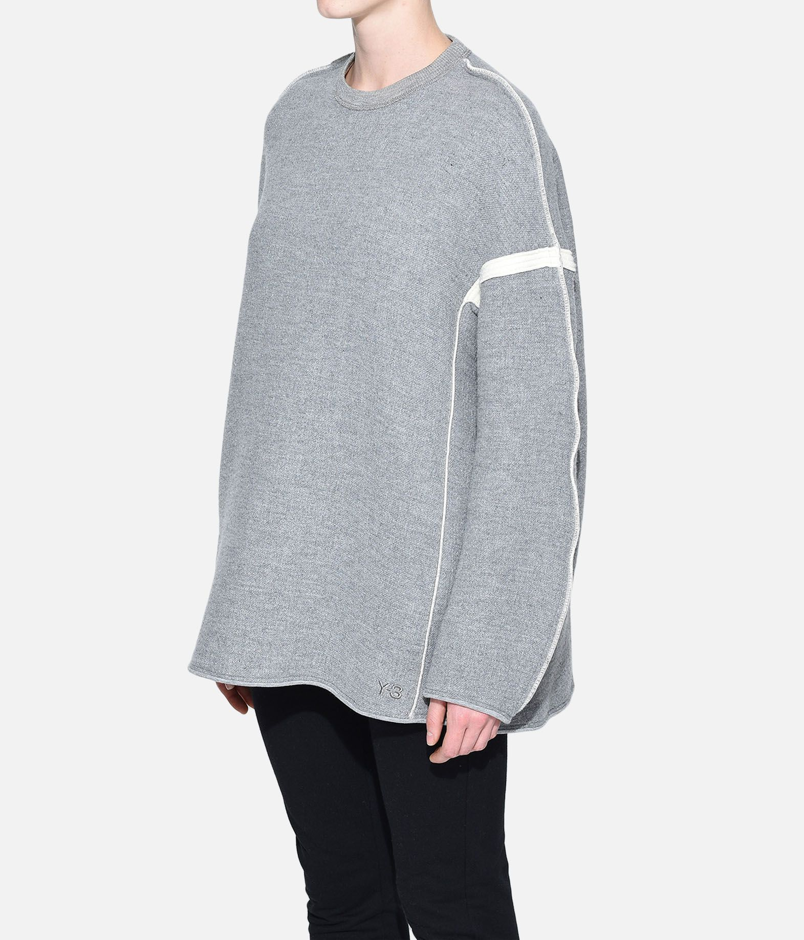 Y-3 Y-3 Oversize Spacer Wool Sweater Sweatshirt Woman e