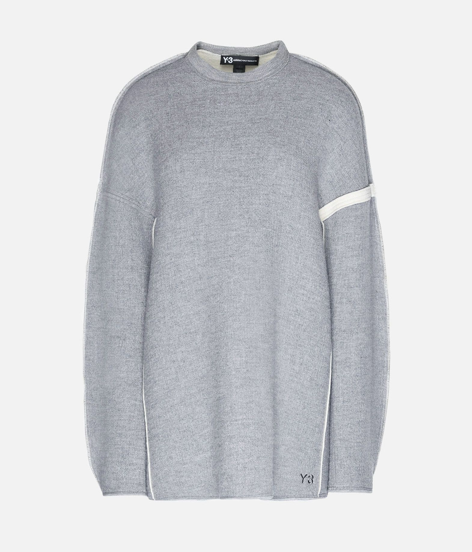 Y-3 Y-3 Oversize Spacer Wool Sweater Sweatshirt Woman f
