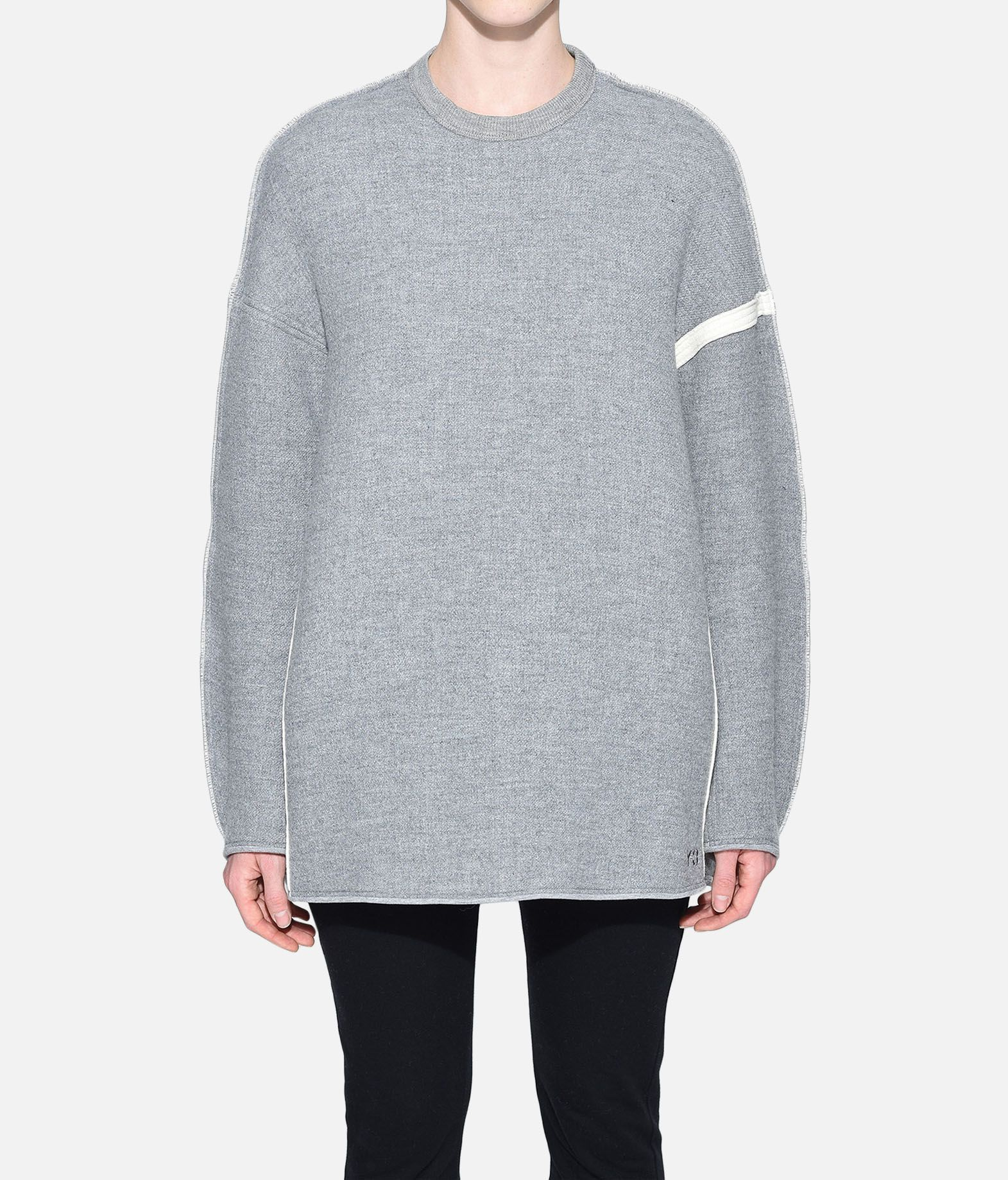Y-3 Y-3 Oversize Spacer Wool Sweater Sweatshirt Woman r