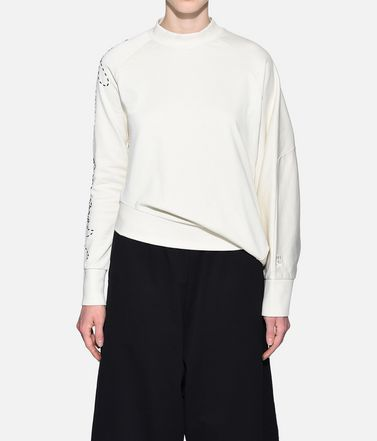 Y-3 Sweatshirt Woman Y-3 Sashiko Slogan Sweater r