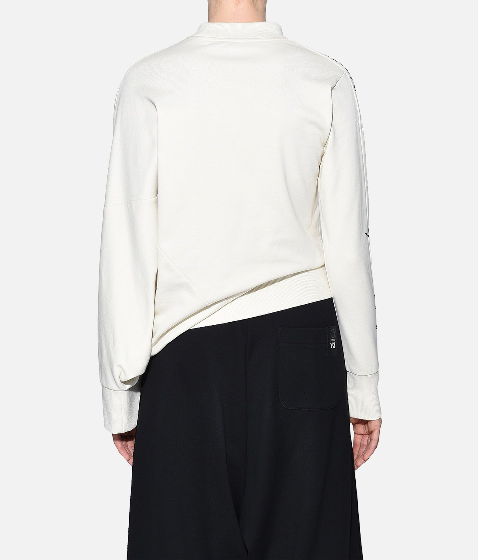 Y-3 Y-3 Sashiko Slogan Sweater Sweatshirt Woman d
