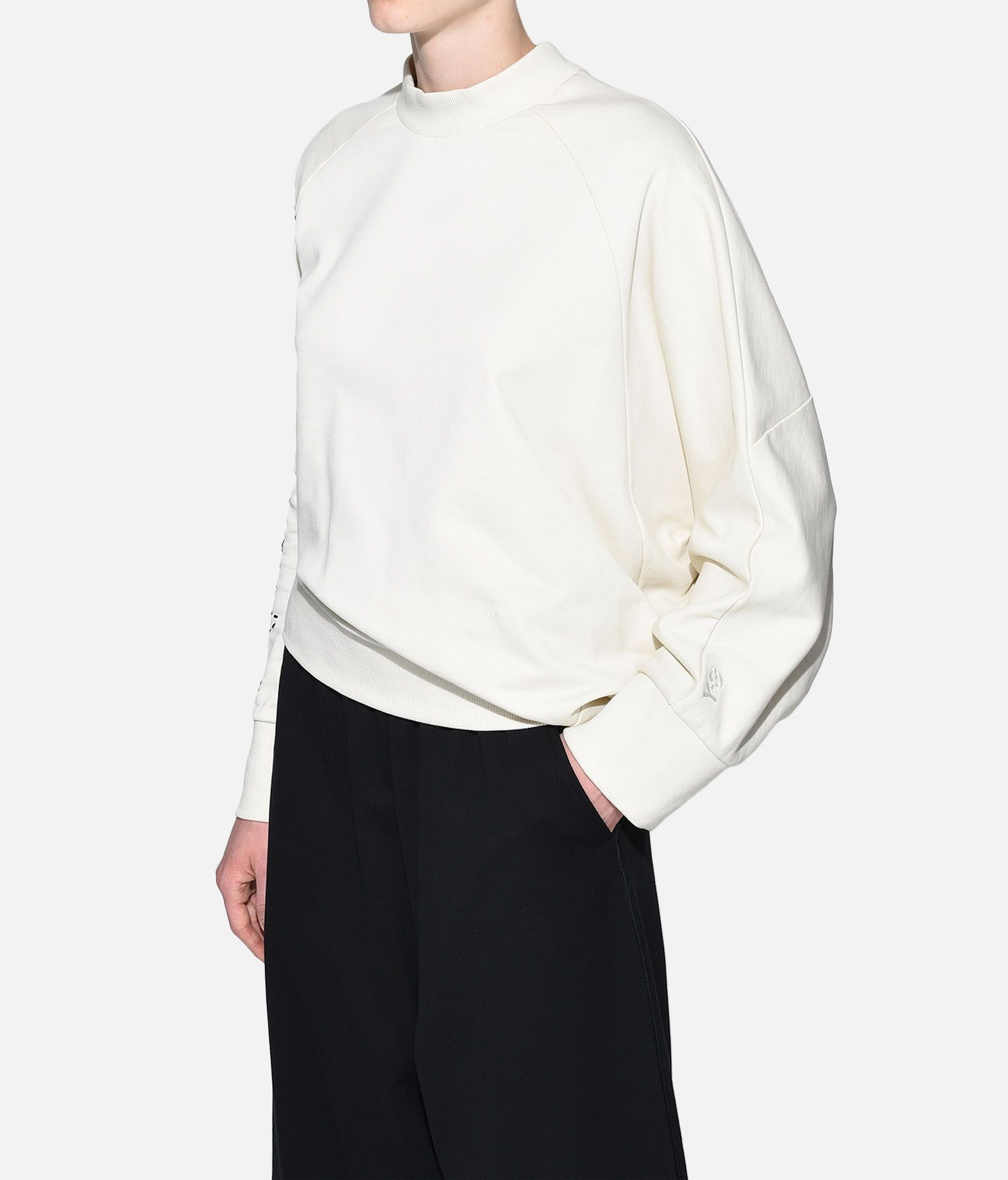 Y-3 Y-3 Sashiko Slogan Sweater Sweatshirt Damen e