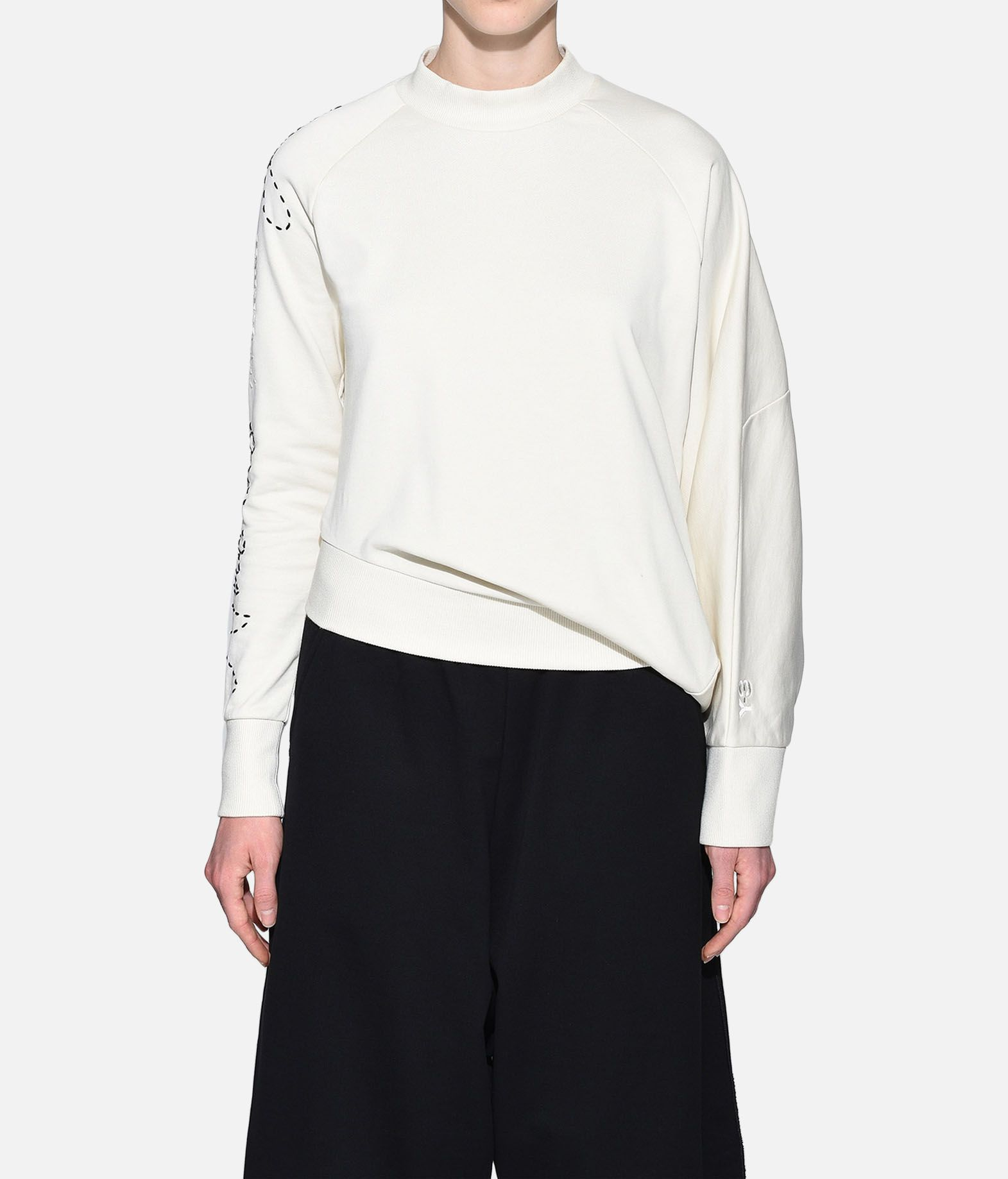 Y-3 Y-3 Sashiko Slogan Sweater Sweatshirt Woman r