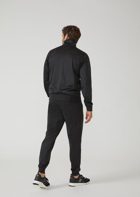 Technical fabric tracksuit with EA7 logo