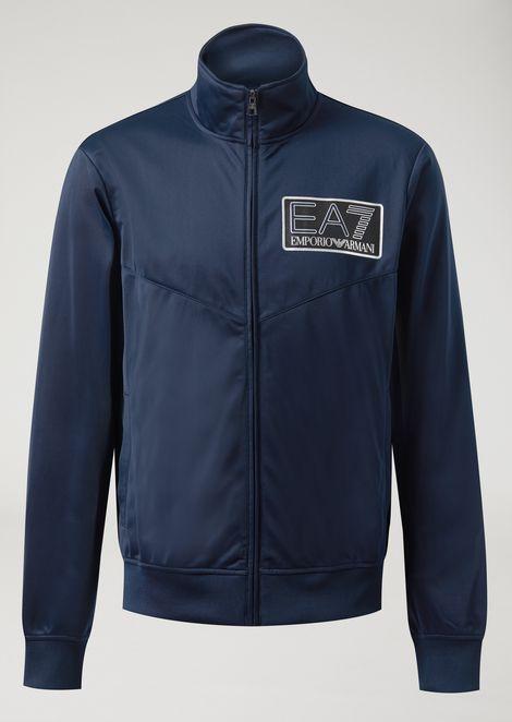 Trainingsanzug aus Funktionsstoff mit EA7 Logo