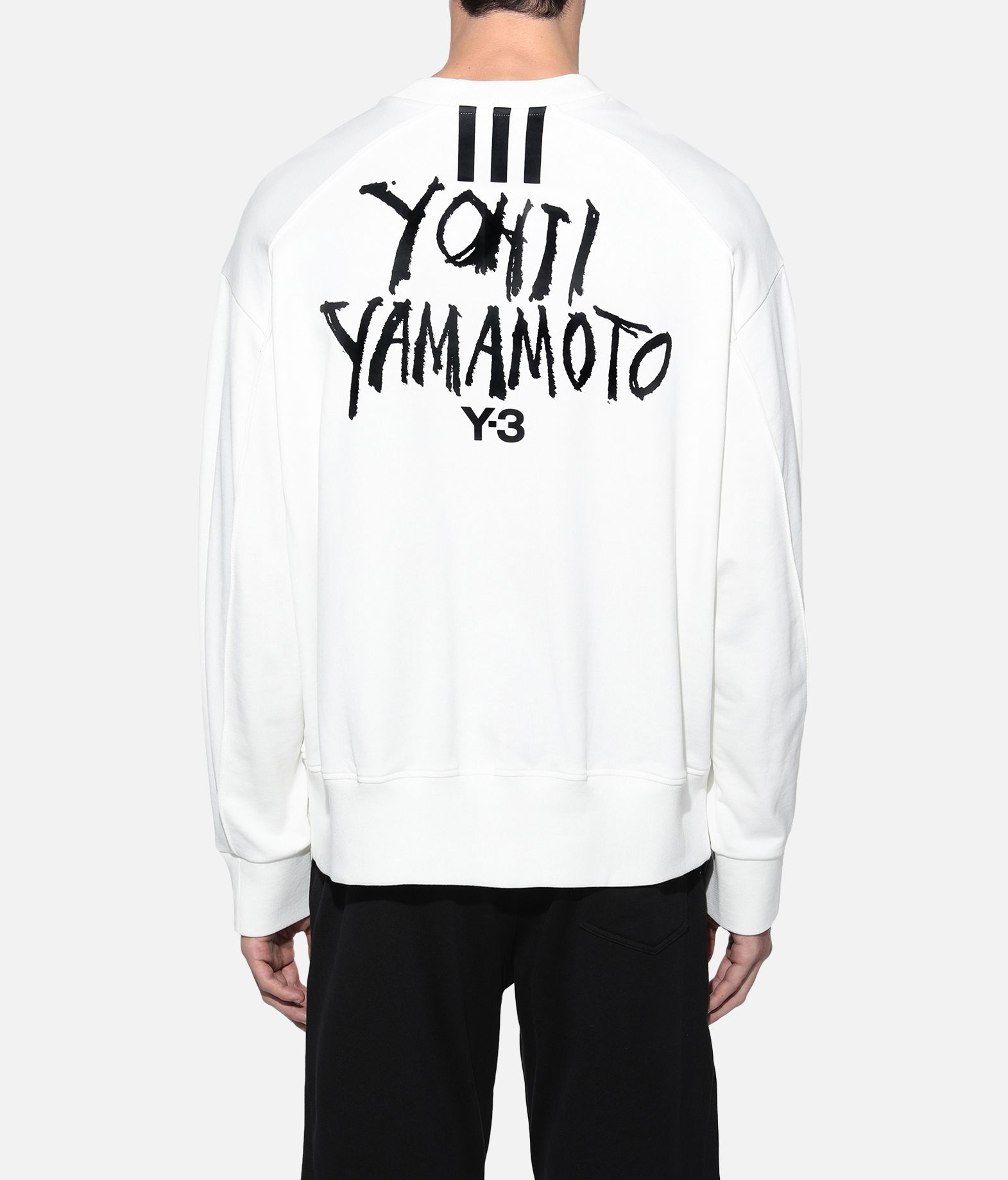 Y-3 Y-3 Signature Graphic Sweatshirt Sweatshirt Man d