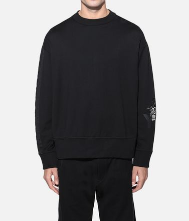 Y-3 Sweatshirt Man Y-3 Yohji Skull Sweater r