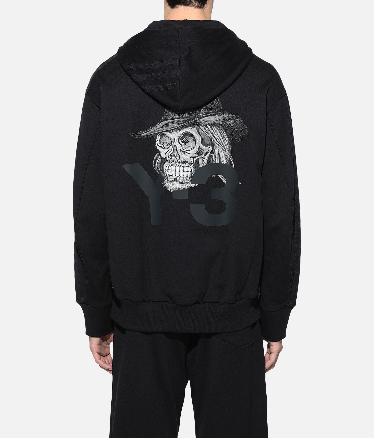 Y-3 Y-3 Yohji Skull Hoodie Hooded sweatshirt Man d