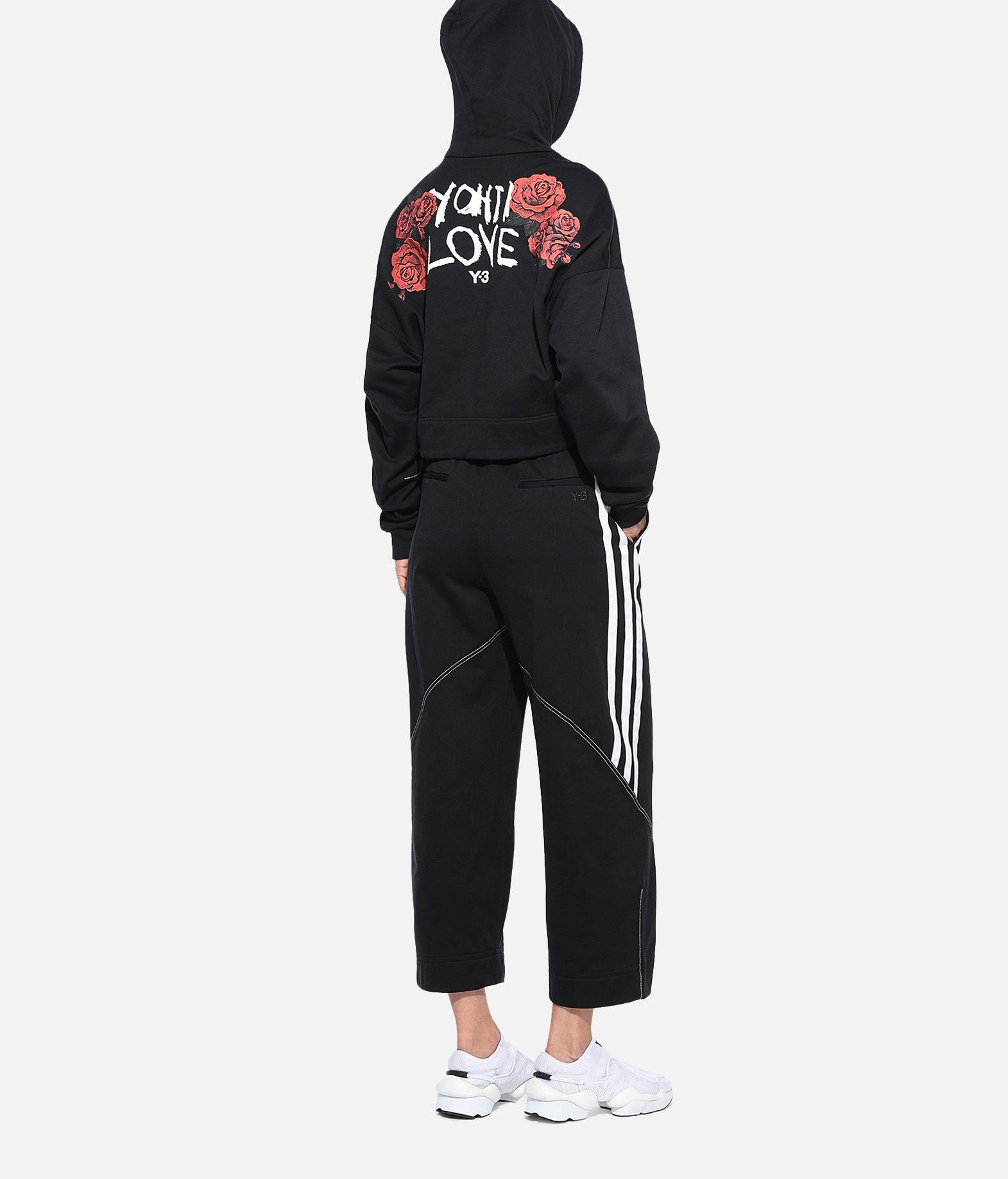 Y-3 Y-3 Yohji Love Hoodie Hooded sweatshirt Woman a