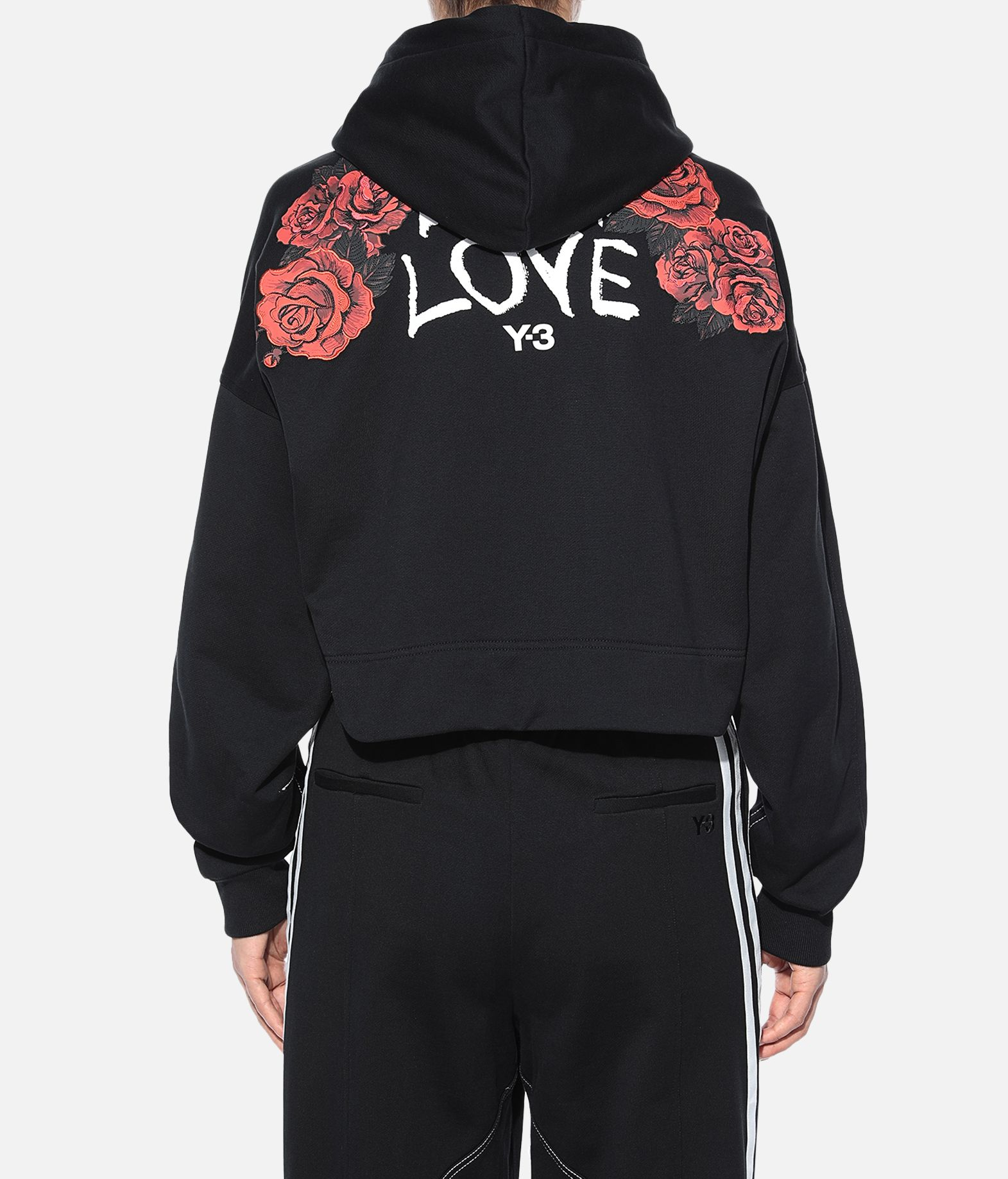 Y-3 Y-3 Yohji Love Hoodie Hooded sweatshirt Woman d
