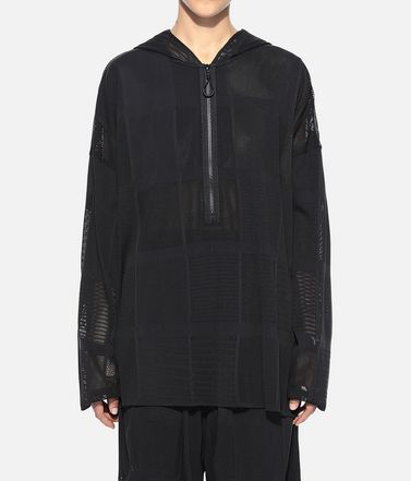 Y-3 Hooded sweatshirt Woman Y-3 Patchwork Hoodie r