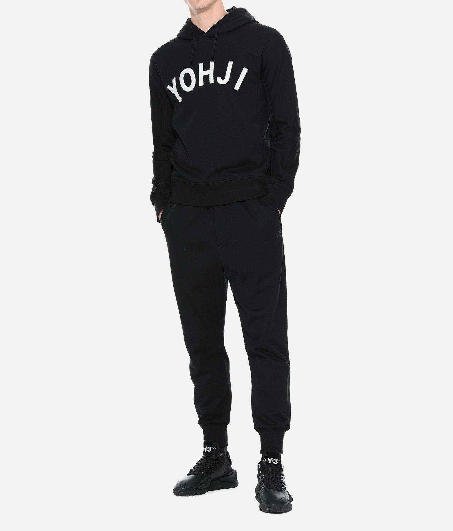 Y-3 Y-3 Yohji Letters Hoodie Hooded sweatshirt Man a
