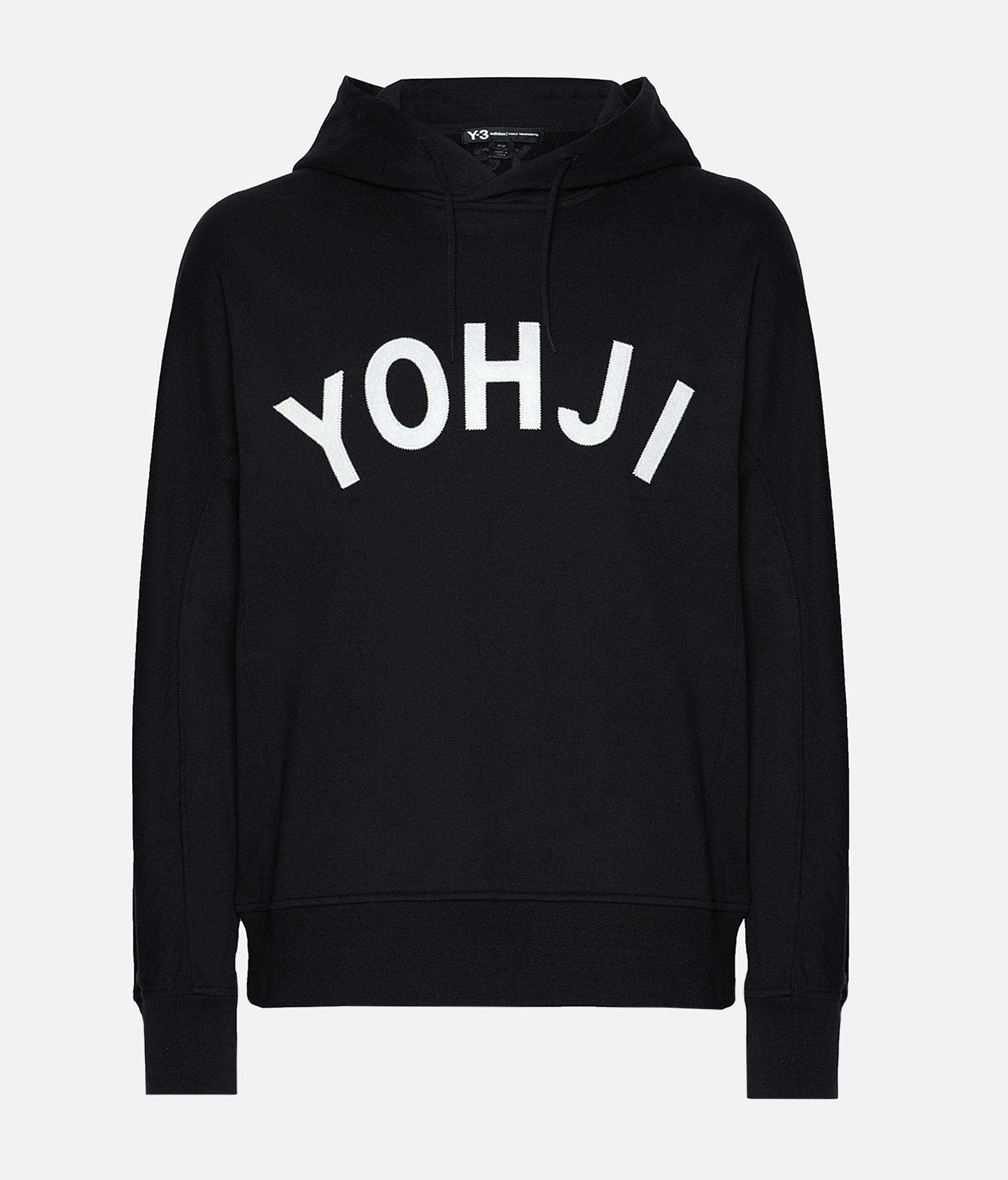 Y-3 Y-3 Yohji Letters Hoodie Hooded sweatshirt Man f