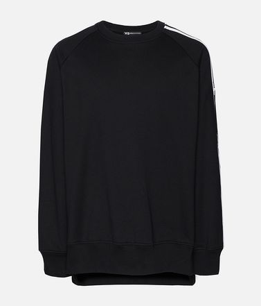 Y-3 3-Stripes Crew Sweatshirt