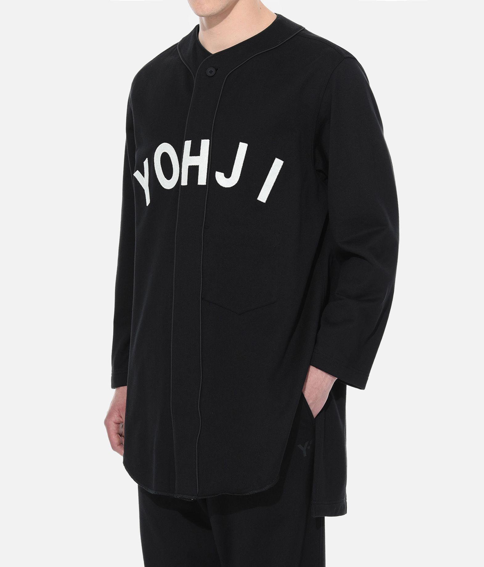 Y-3 Y-3 Yohji Letters Baseball Shirt Sweatshirt Man e
