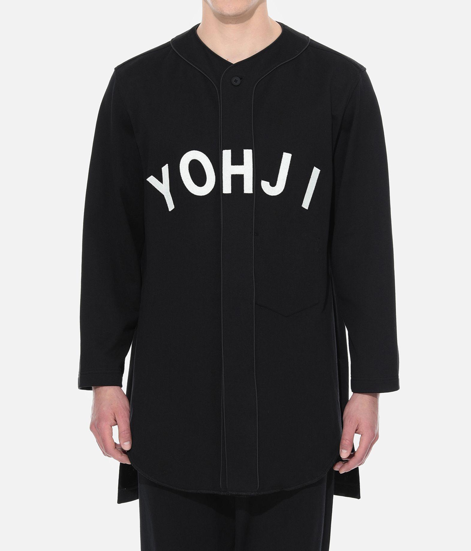 Y-3 Y-3 Yohji Letters Baseball Shirt Sweatshirt Man r