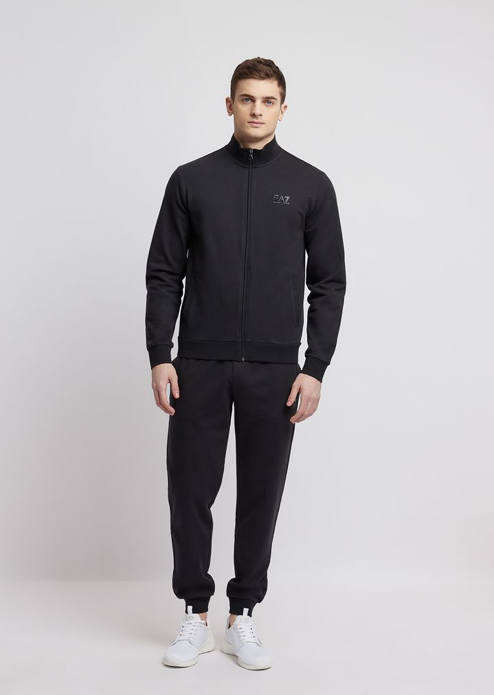 e6ad655ccac Train Core ID baby French terry cotton tracksuit