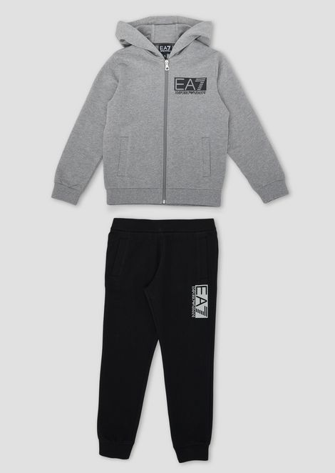 Boys' tracksuit with sweatshirt and jogging trousers